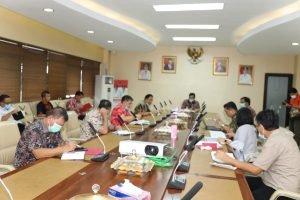 Pemprov Sulut Tindaklanjuti Arahan Jokowi di Ratas Online Penanganan Covid-19