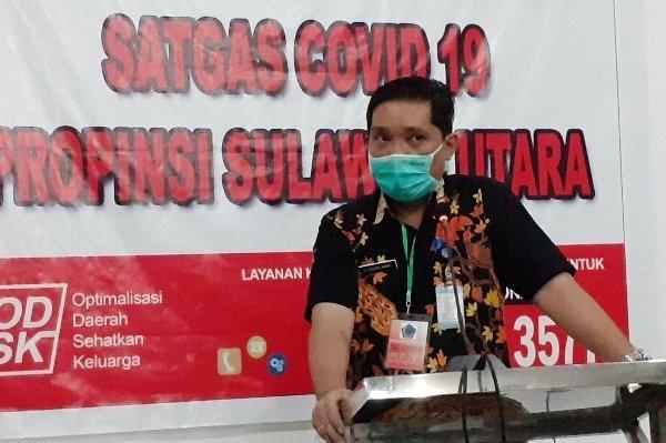 Terus Bertambah, Jumlah Pasien Positif Covid 19 di Sulut, Jadi 15 Pasien