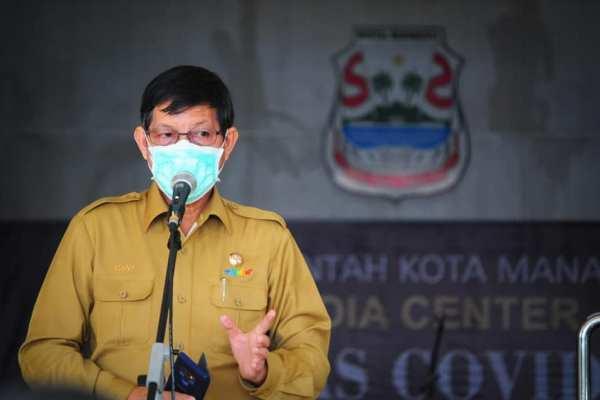 Gelar Jumpa Pers Penanganan Covid-19, Walikota GSVL Siap Salurkan Sembako Bagi Warga Berdampak Covid-19
