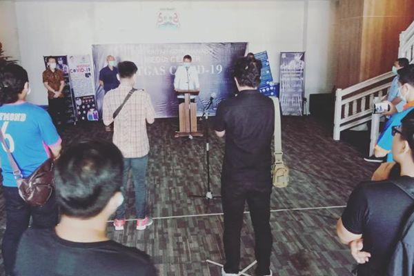 Walikota GSVL: Torang Jaga Jarak Dulu