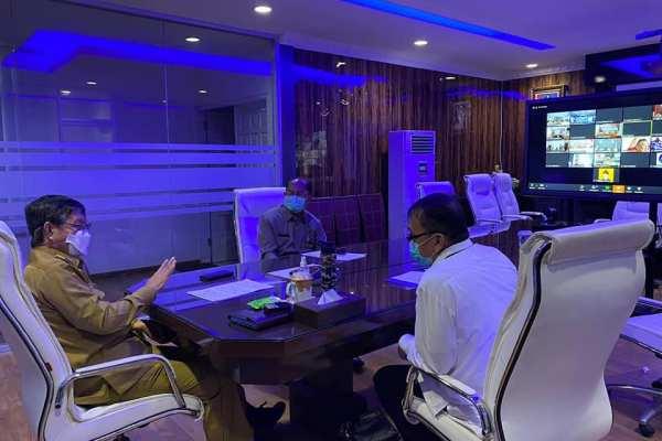 Walikota GSVL Koordinasi Penanganan Covid1-19 di Kota Manado
