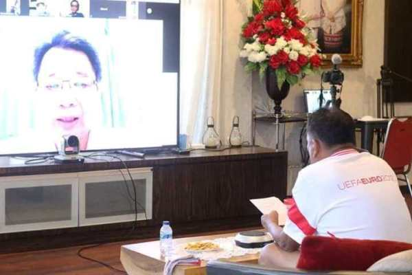 Gubernur Olly Beri Motivasi Tenaga Medis Covid-19 Sulut