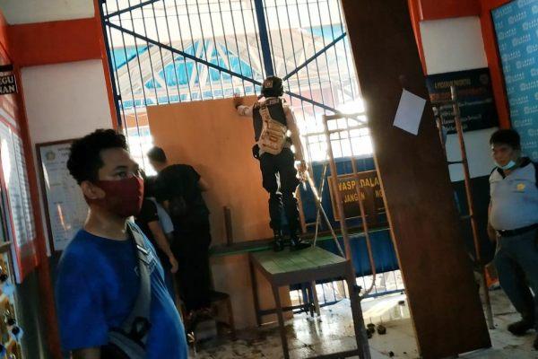 Lapas Manado Rusuh, Napi Mengamuk Hingga Bakar Bangunan