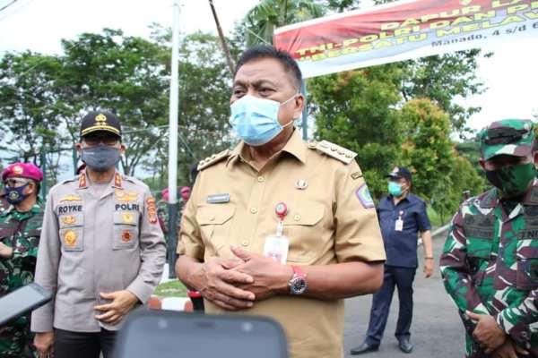 Gubernur Olly dan Jajaran Forkopimda Launching Dapur Lapangan TNI-Polri dan Pemprov Sulut Bersatu Melawan Covid-19