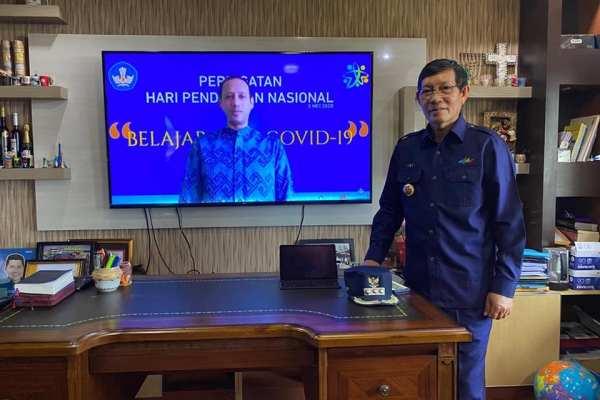 Giat Walikota GSVL Hari Ini, Dari Ba Kobong Lanjut Upacara Hardiknas Live Streaming Kemendikbud