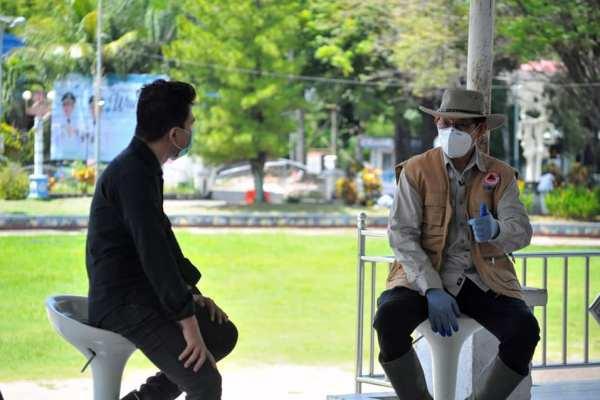 Terkait Perkembangan Klaster Pinasungkulan, Walikota GSVL Kaji Bersama Forkopimda Penerapan Protokol Kesehatan Ketat Sampai Pada Penutupan Sementara