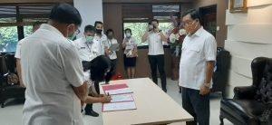 Wagub Kandouw Lantik Hermin Jadi Irban Wilayah V Inspektorat Sulut