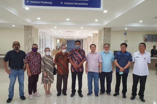 Gubernur Olly Apresiasi RS Dr JH Awaloei Tangani Pasien Covid-19