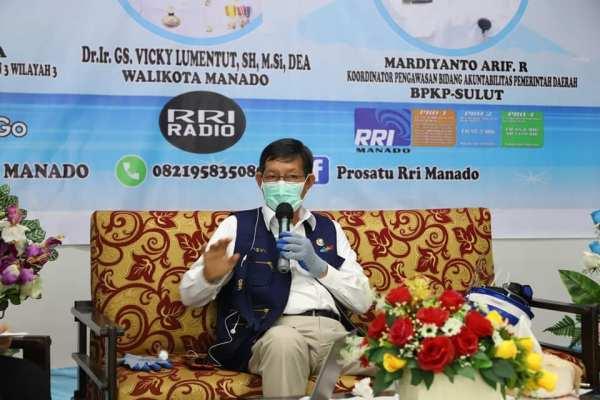KPK, BPKP, Walikota GSVL Bahas Penyaluran Bantuan Sosial