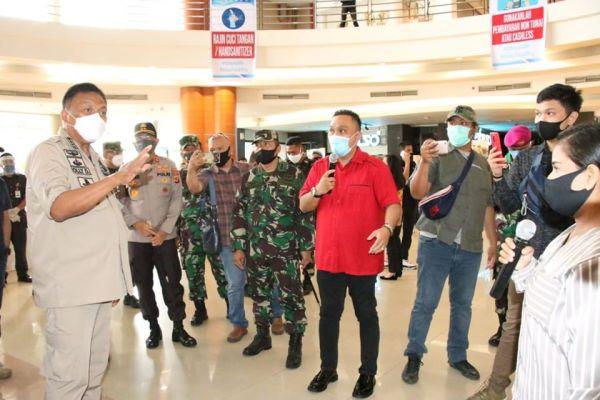 Pantau Mantos, Gubernur Olly Beri Sinyal Mall Segera Buka Lagi, Ini Alasannya
