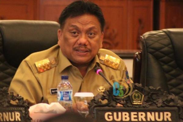 Gubernur Olly Apresiasi Dukungan Unsrat Dalam Penanganan Covid-19
