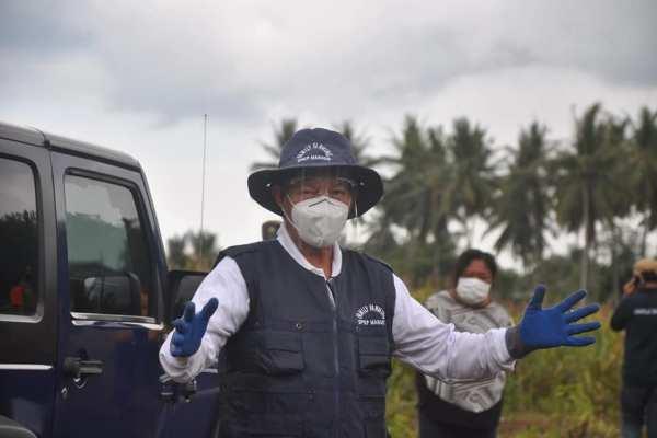 Walikota GSVL Apresiasi Kapolresta Manado Bentuk Kampung Tangguh