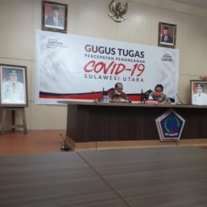 GTC-19 Sulut Gelar Rapat Virtual, Bahas Persiapan Penerapan New Normal