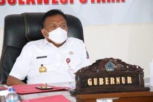 Bahas Pemantapan Pilkada Serentak 2020, Gubernur Olly Ikuti Vidcon Bersama Mendagri