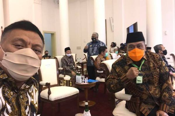 Begini Hasil Rapat Gubernur Olly dengan Presiden Jokowi