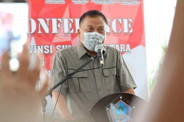 Gubernur Olly : KUA-PPAS APBD-P Sulut 2020 Fokus Tangani Dampak Pandemi
