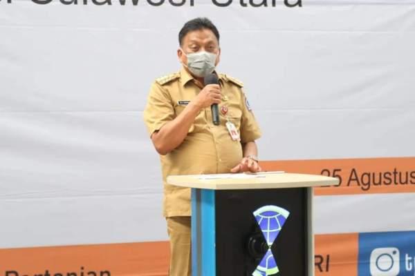KABAR BAIK di Tengah Pandemi, Gubernur Olly Lepas Ekspor Komoditas Pertanian Sulut Senilai Rp 47,8 M ke 15 Negara