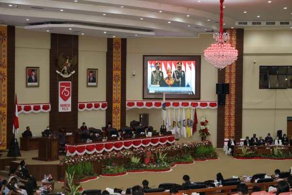 ODSK Bareng Deprov Nobar Pidato Jokowi dalam ST MPR dan RUU APBN 2021, Ini Isinya