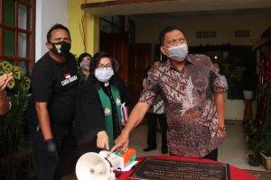 Gubernur Olly Bersama Jemaat GMIM Baithel Tanggari Rayakan HUT Dimasa Pandemi