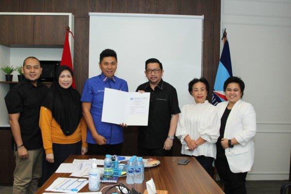 Paslon Pertama Kantongi Formulir B1KWK di Pilwakot Manado, MOR-HJP Siap Mendaftar