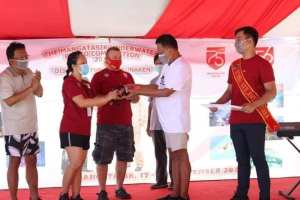 Gubernur Olly Apresiasi Event Mangatasik Underwater Photo Competition 2020
