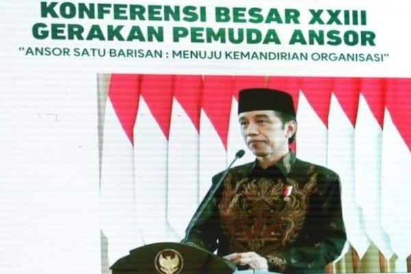 Jokowi Buka Konbes XIII GP Ansor di Minahasa; Gubernur Olly : Terima Kasih Sudah Memilih Sulut
