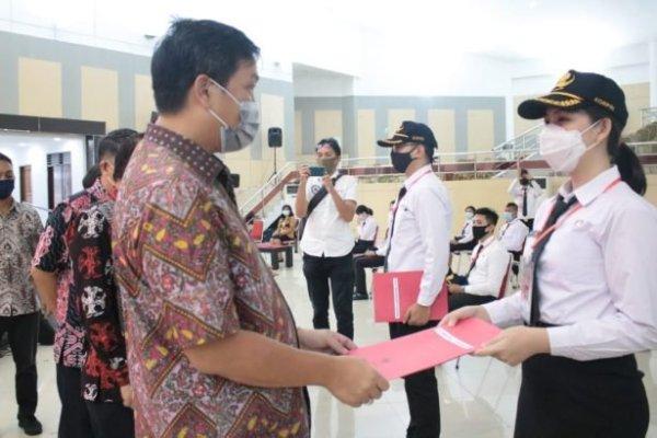 Tutup Latsar CPNS, Wagub Kandouw Beri Wejangan Soal Integritas