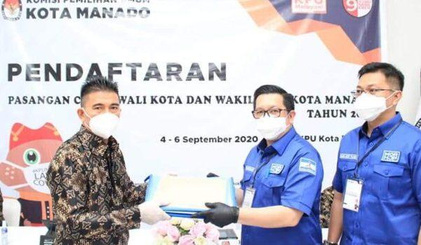 MOR-HJP: Puji Tuhan, Mari Torang Baku-Baku Bae, KPU Manado Tetapkan Empat Paslon
