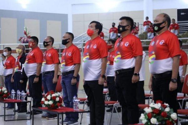 Dibuka Jokowi, Wagub Kandouw Ikuti Puncak Peringatan Haornas ke-37 Secara Virtual