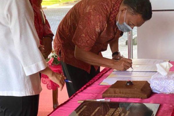 Tepati Janji, Gubernur Olly Resmikan Laboratorium Biomolekuler Terbesar se-Indonesia Timur