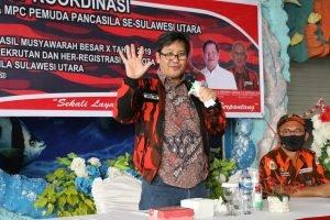 Wagub Kandouw : Pemuda Pancasila Konsisten Menjaga Pluralisme
