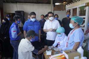 Lakukan Pengobatan Gratis di Kelurahan Banjer, MOR: Mari Torang Jaga Kesehatan