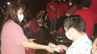 Dokter Devi Sosialisasi Pentingnya Gunakan Masker Saat Berada di Wisata Alam Gunung Mahawu