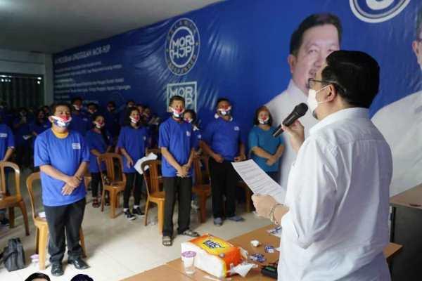 Lantik Tim Relawan Independent Wanea, MOR: Manjo Torang Ciptakan Pilkada Damai