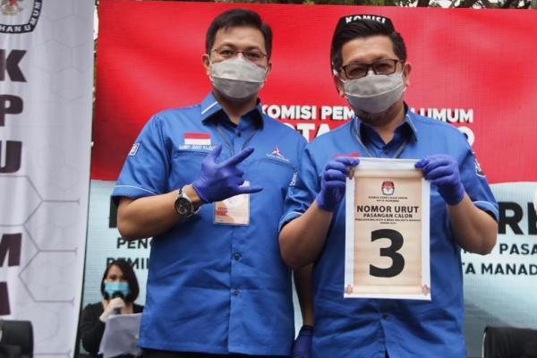 MOR-HJP Terpanggil Melayani Warga Kota Manado
