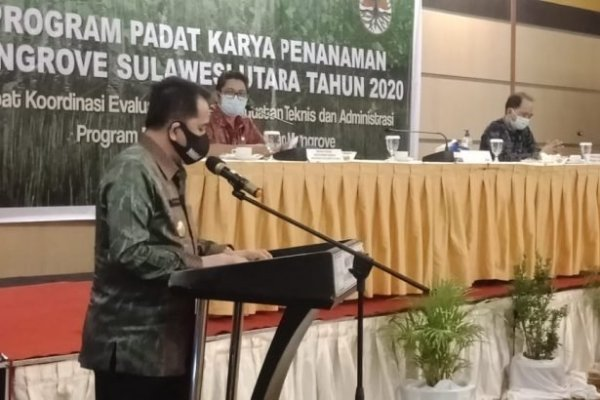 Pjs Gubernur Fatoni Ajak Masyarakat Jaga Kelestarian Mangrove