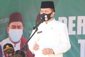 Pjs Gubernur Sulut Agus Fatoni, Inspektur Upacara Hari Santri Tahun 2020