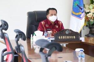 Dibuka Presiden Jokowi, Pjs Gubernur Fatoni Ikuti Rakornas Pengendalian Inflasi 2020