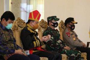 Dipimpin Presiden Jokowi, Pjs Gubernur Fatoni Bersama Forkopimda Ikuti Upacara Virtual Peringatan Sumpah Pemuda ke-92