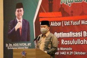Hadiri Peringatan Maulid Nabi Muhammad SAW, Ini Pesan Pjs Gubernur Fatoni