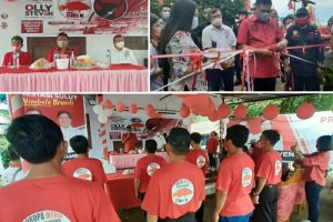 Bakar Semangat Relawan Goropa Merah, Olly Optimis Rebut Kemenangan di Pilgub Sulut 9 Desember 2020