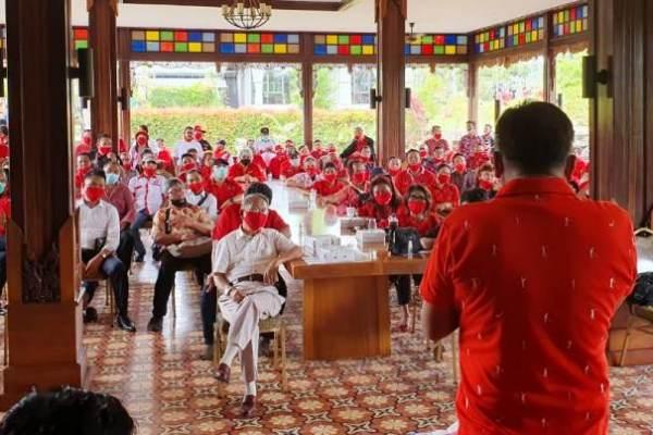 """Olly-Steven Bakar Semangat """" Senior Senior PDIP Sulut """" Menangkan Pilkada 2020"""
