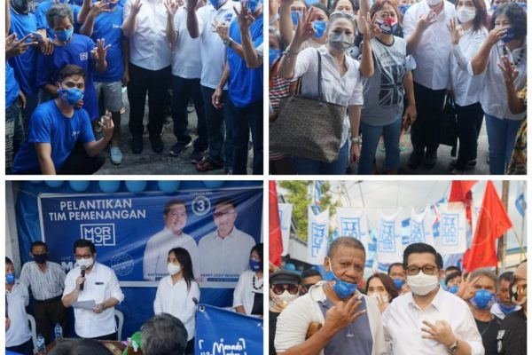 Sekretariat Pemenangan di Lorong Karona, Pendukung Imba Pilih MOR-HJP