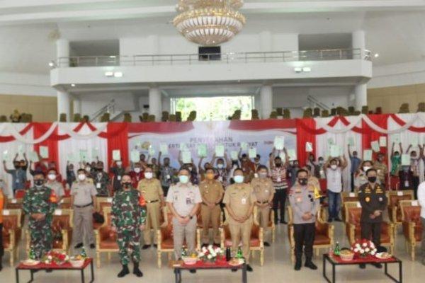 Jokowi Bagikan 1 Juta Sertifikat Tanah di 31 Provinsi dan 201 Kabupaten Kota