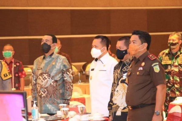 Tangkal Hoaks, Pjs Gubernur Fatoni Apresiasi Sosialisasi UU Ciptaker yang Digelar IPDN