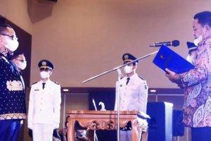 Pjs Gubernur Fatoni Ucapkan Selamat Atas Dilantiknya Sulpakar sebagai Ketua DPP IKAPTK Lampung 2020-2025
