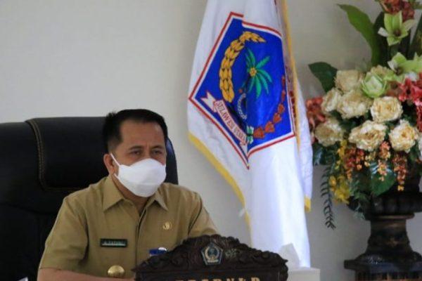 Pjs Gubernur Fatoni Hadiri Penyerahan DIPA dan TKDD 2021 secara Virtual, Ini Pesan Presiden Jokowi