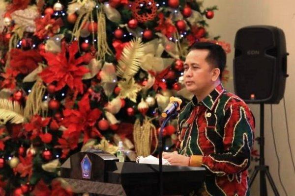 KABAR BAIK : Pjs Gubernur Fatoni Sebut Ibadah Natal Boleh Asal Patuhi Prokes Covid-19