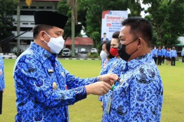 Jadi Irup HUT Ke-49 Korpri, Pjs Gubernur Fatoni Apresiasi Dedikasi ASN Pemprov Sulut