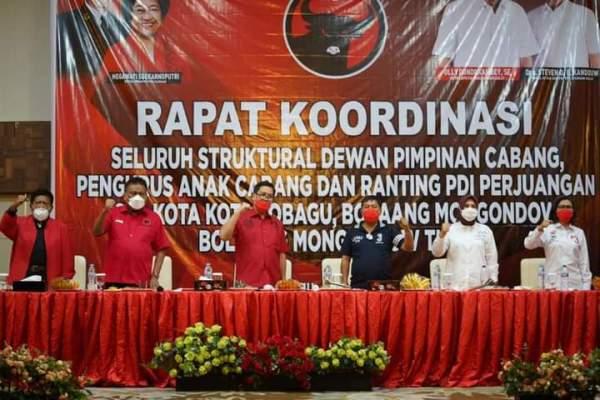 Jaga Soliditas, PDI Perjuangan Sulut Siap Sapu Bersih Pilkada 2020